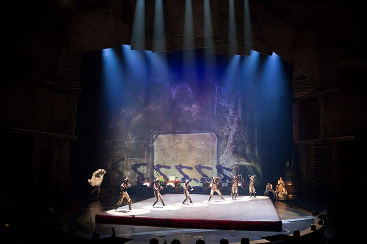 Cirque du Soleil at Disney Springs in Orlando; Courtesy of Disney