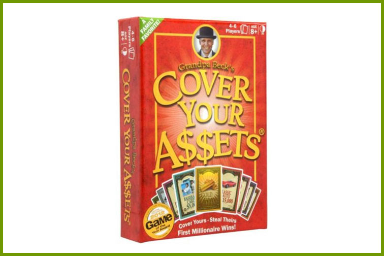 Grandpa Beck's Cover Your Assets Family Card Game; Courtesy of Amazon