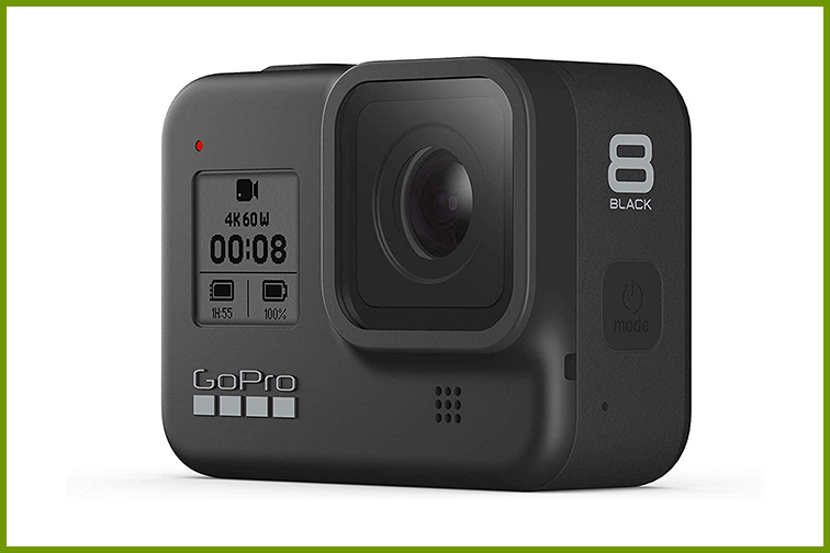 GoPro Hero8; Courtesy Amazon