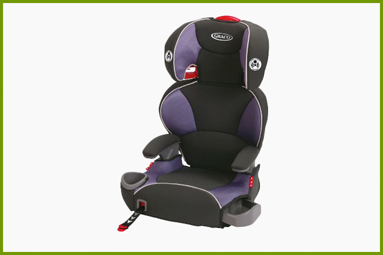 Graco AFFIX Highback Booster Seat with Latch System; Courtesy Target