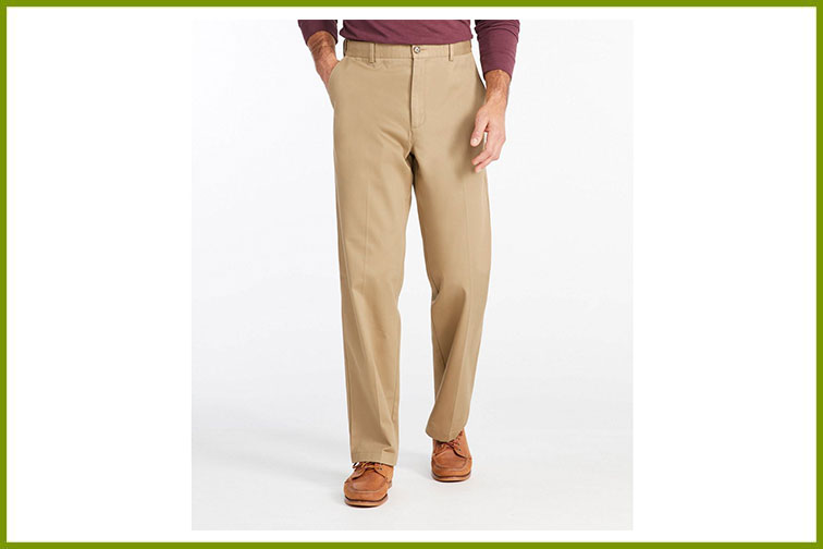 L.L. Bean Chino Pants; Courtesy of L.L. Bean