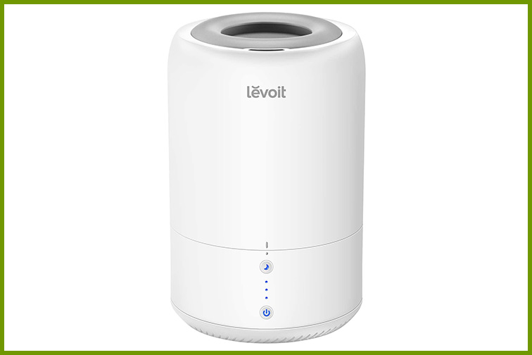 Levoit Dual 100 Humidifier and Essential Oil Diffuser; Courtesy Amazon