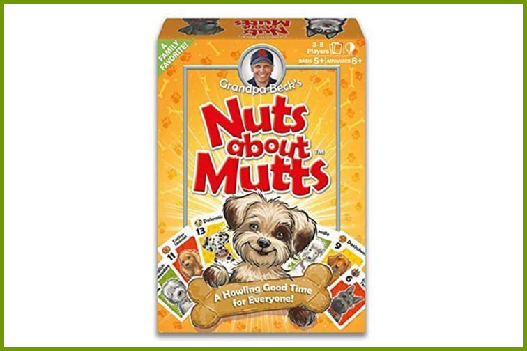 Nutts About Mutts Family Card Game; Courtesy of Amazon