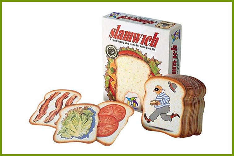 Slamwich Family Card Game; Courtesy of Amazon