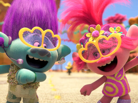 still from the movie Trolls World Tour; Courtesy Universal Studios