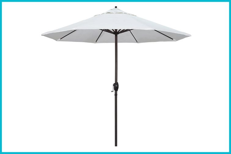 California Aluminum Market Umbrella