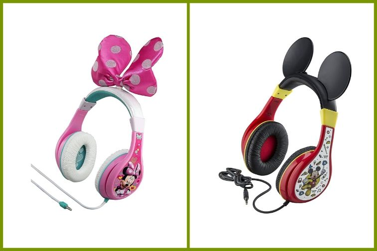 Minnie and Mickey Mouse Headphones by eKids