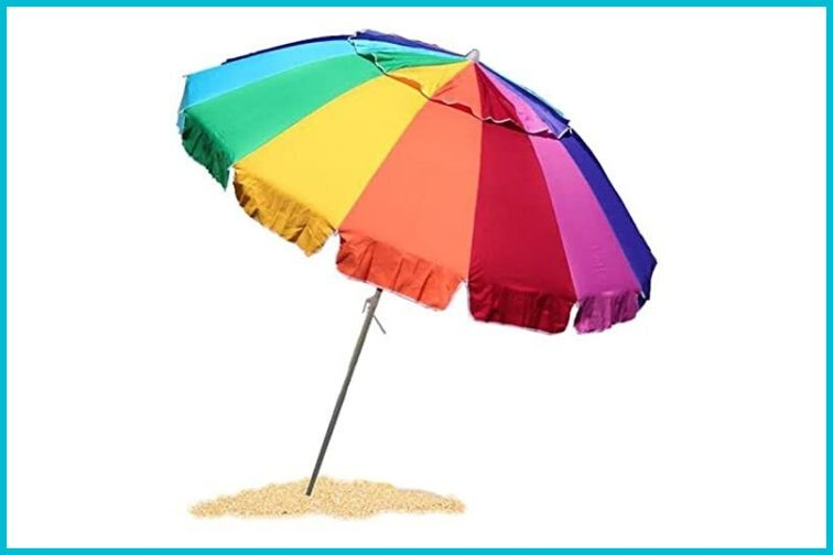 EasyGo High Wind Beach Umbrella