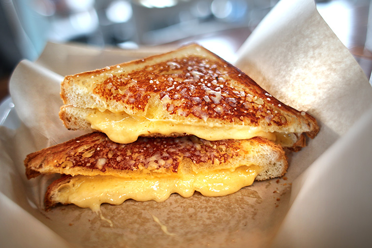 grilled cheese; Courtesy N K/Shutterstock