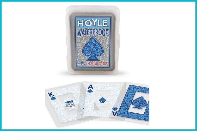 Waterproof Playing Cards Beach Game; Courtesy of Amazon