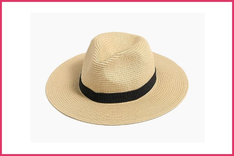 JCrew Packable Straw Hat