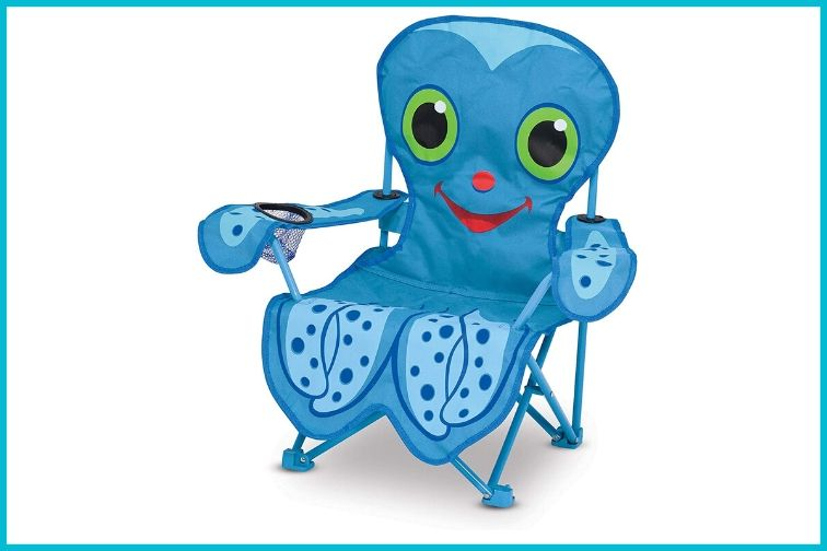 Melissa & Doug Sunny Patch Flex Octopus Folding Beach Chair for Kids; Courtesy of Amazon.com