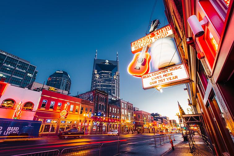 Nashville Broadway Street; Courtesy Jake Matthews