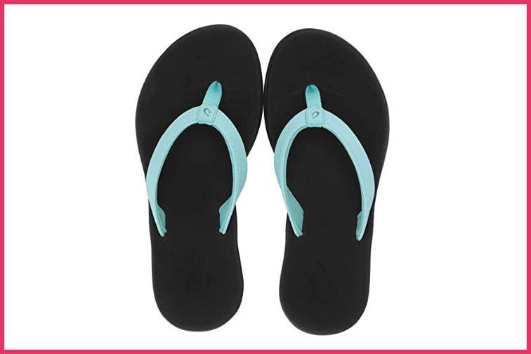 Olukai Flip Flops; Courtesy of Zappos