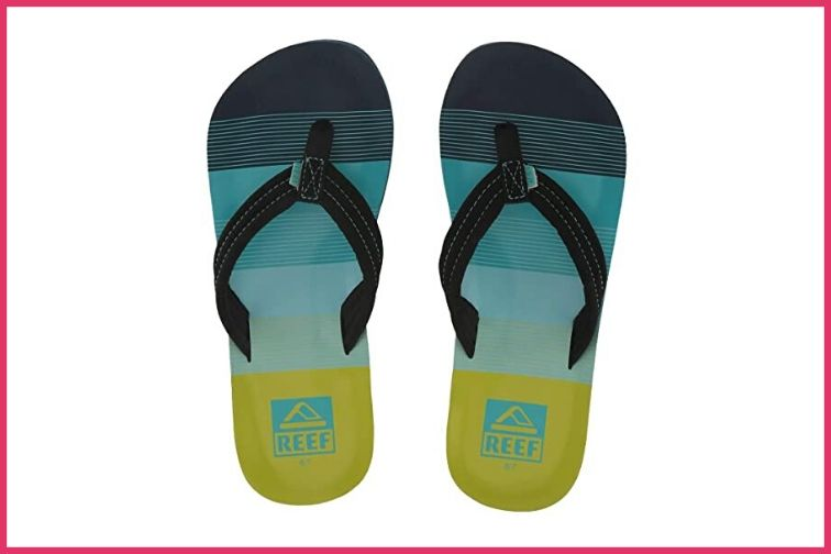 Reef Flip Flops; Courtesy of Zappos