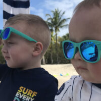 Roshambo baby and toddler sunglasses; Courtesy of Courtney Elko