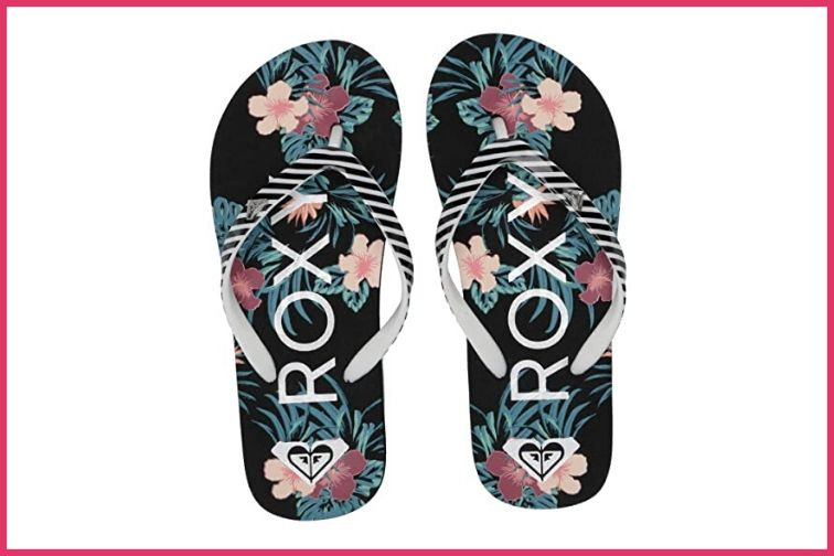 Roxy Kids Flip Flops; Courtesy of Zappos
