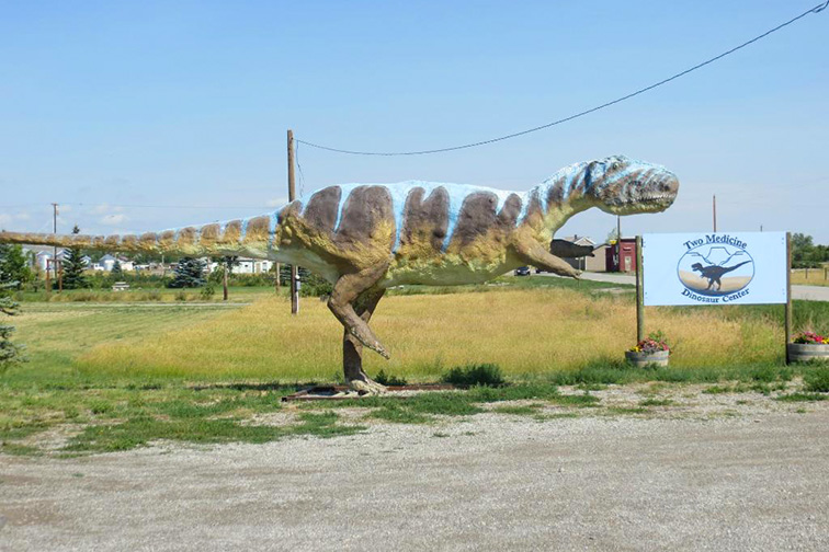 Two Medicine Dinosaur Park Montana Dinosaur Trail; Courtesy Tripadvisor Traveler/parkvisitor