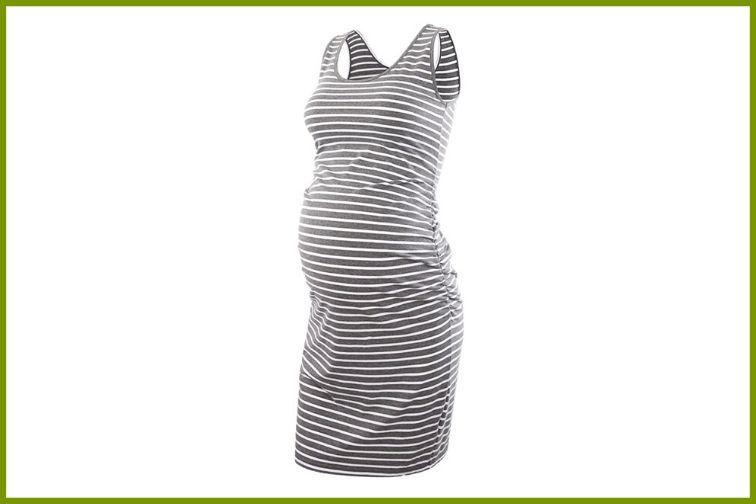Women's Maternity Sleeveless Tank Dress
