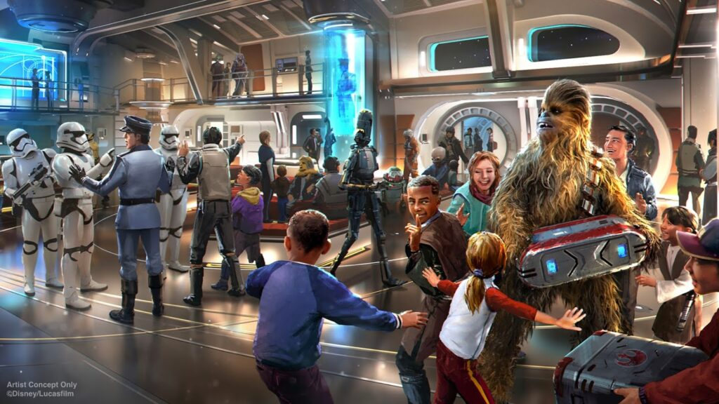 It Will Be a Fully-Immersive Star Wars Experience