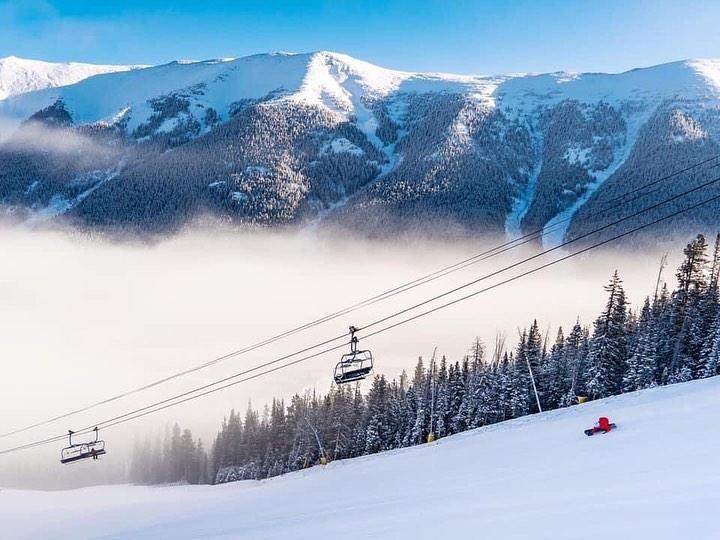 Ski lift at Breckenridge, Colorado