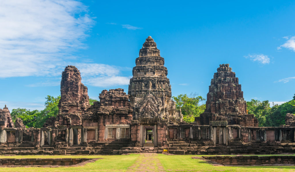 The temple Angkor Wat near the city of Siem Reap, Cambodia