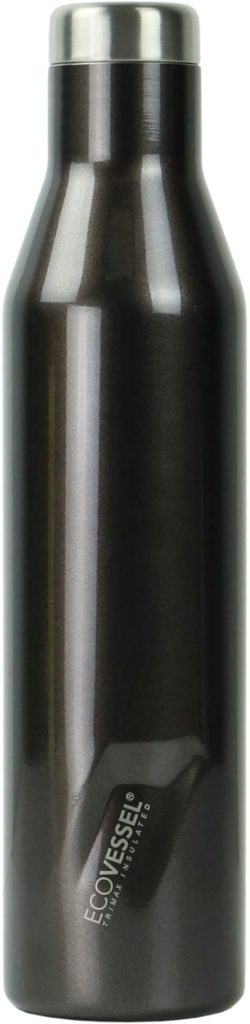 EcoVessel TriMax Vacuum Insulated Stainless Steel Water Bottle