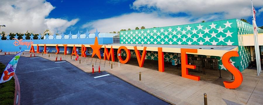 Exterior of Disney's All-Star Movies Resort