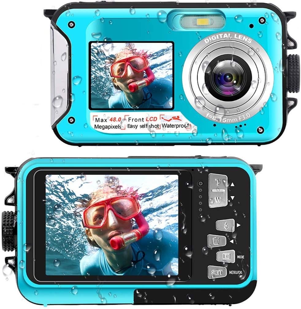 YISENCE Waterproof Digital Camera