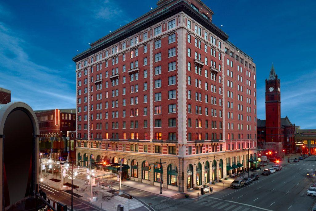 Omni Severin Hotel in Indianapolis, IN