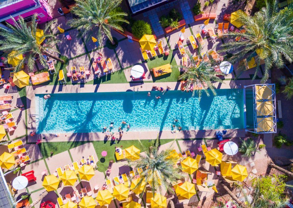 The pool at The Saguaro Scottsdale