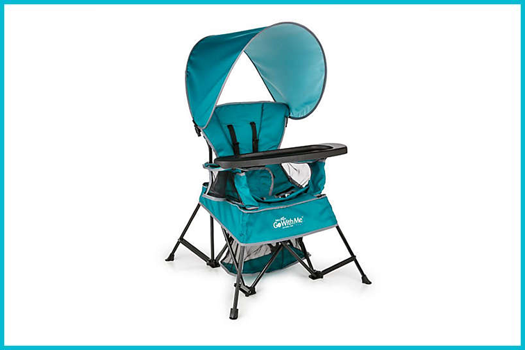 Baby Delight Go with Me Chair  in Teal