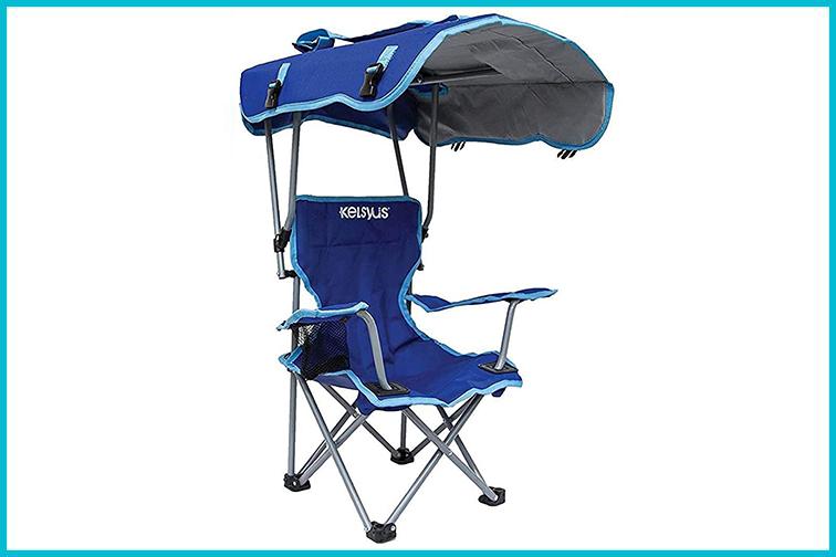 Kelsyus Kids Outdoor Canopy Chair in Blue