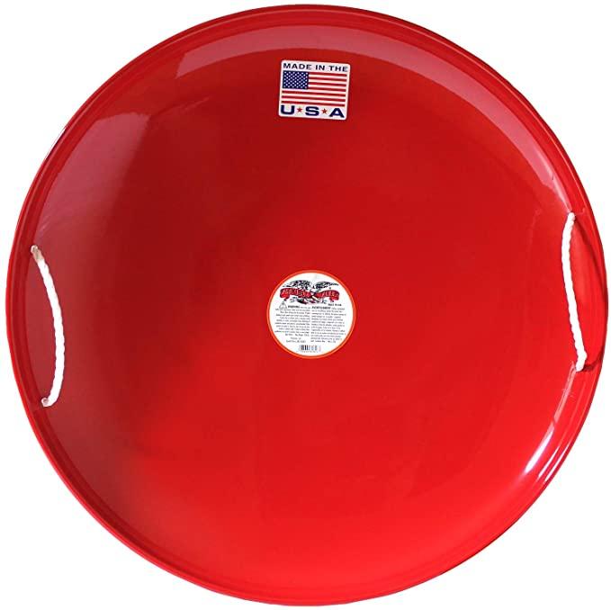 Flexible Flyer sandboard in red