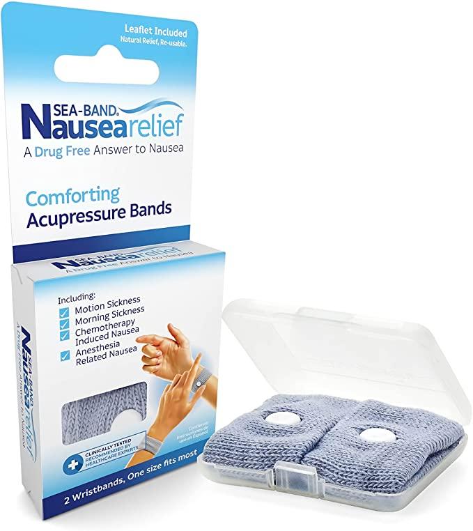 Sea-Band Nausea Relief acupressure bands