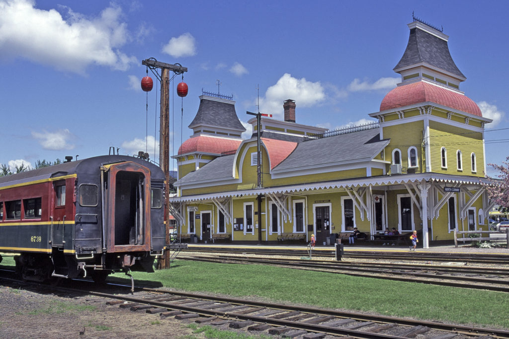North Conway, NH train station