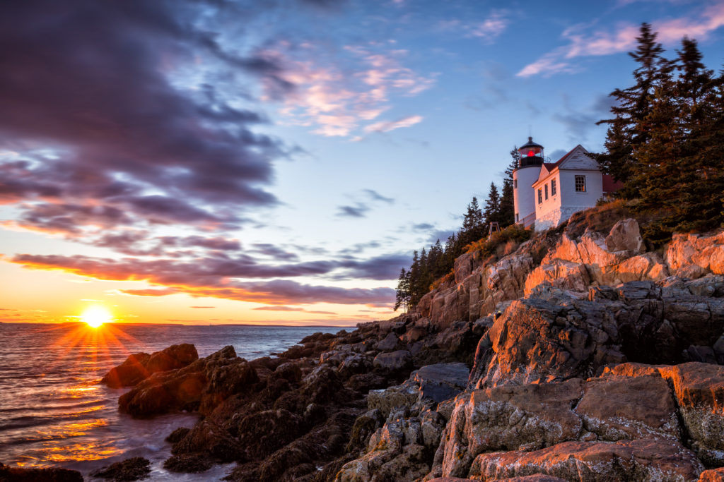 Lighthouse at Acadia National Park, ME