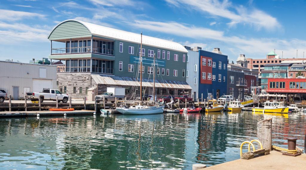 Maine Wharf, Portland, Maine