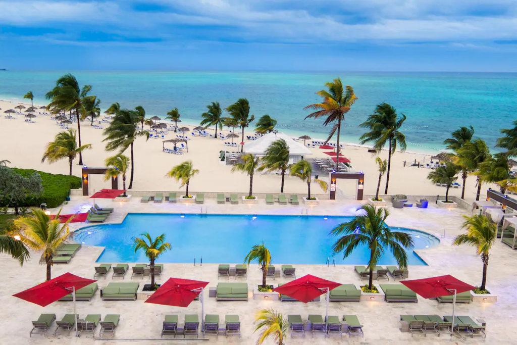 Pool at the Viva Wyndham Fortuna Beach Resort