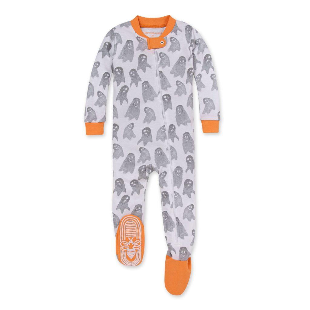 Burt's Bees Baby® Ghosties and Goblins Organic Cotton Sleep Play Footie