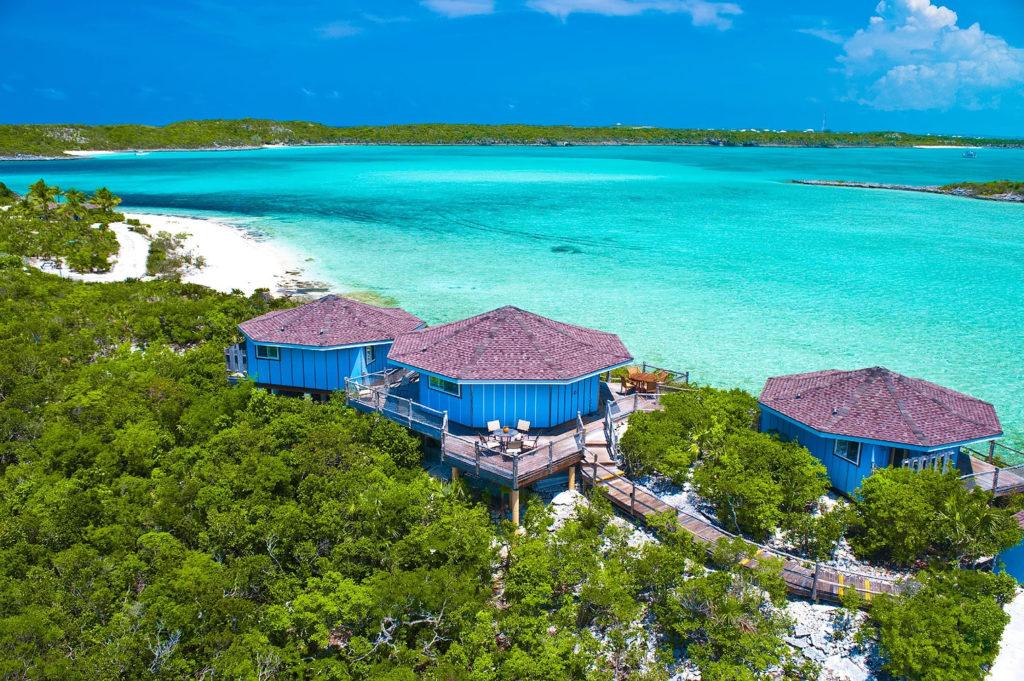 Seaside bungalow at Fowl Cay Resort