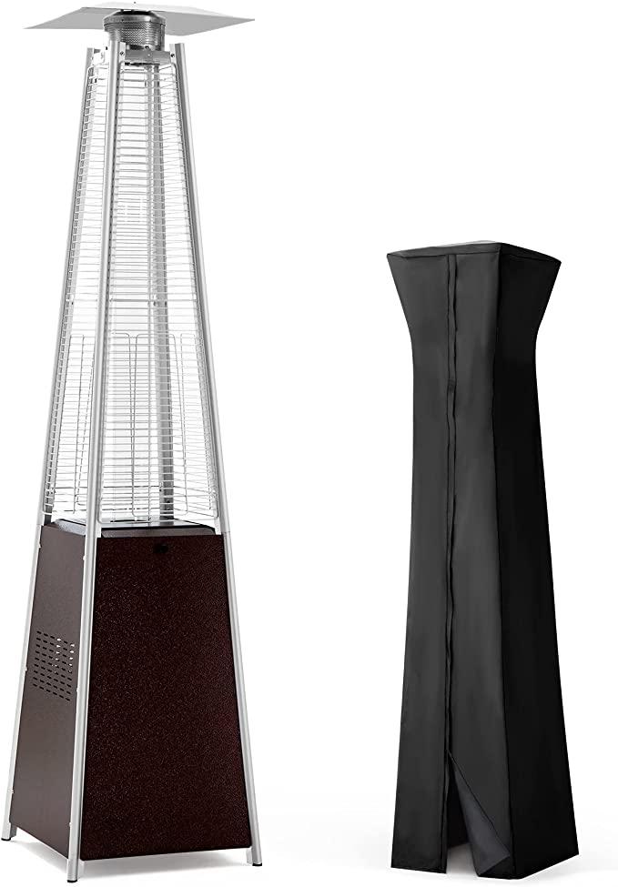 PAMAPIC 42,000 BTU Pyramid Flame Patio Heater